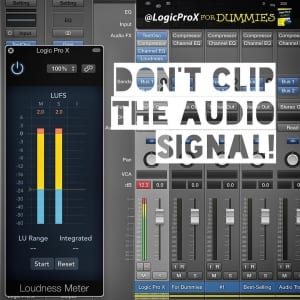Don't clip the audio signal! 🎚
