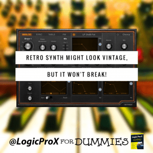 Retro Synth Might Look Vintage, But It Won't Break!