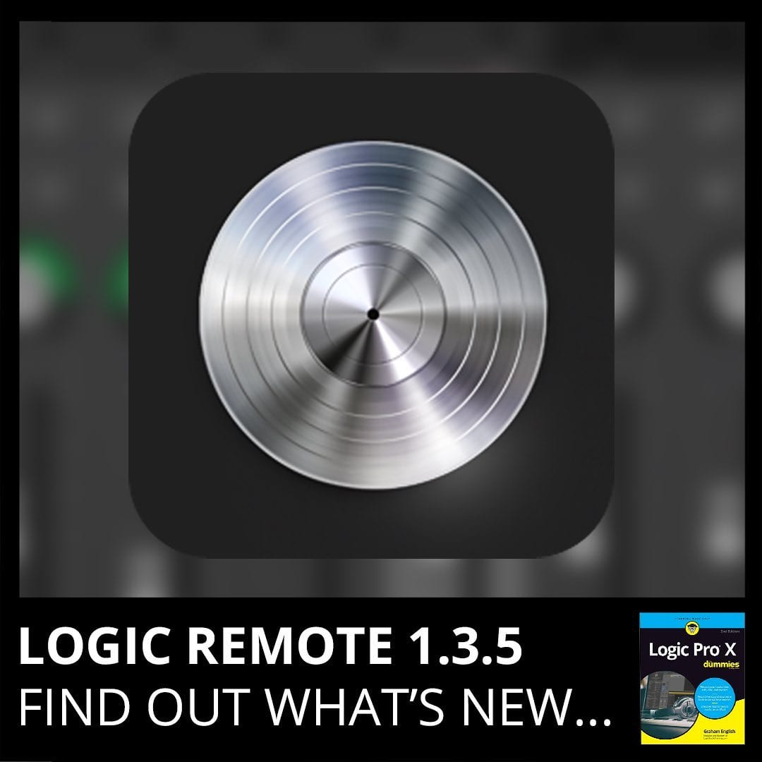 Logic Remote 1.3.5 update contains stability improvements and bug fixes